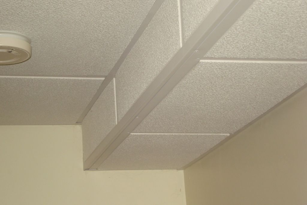 BASEMENT CEILING COVER Ceiling Systems